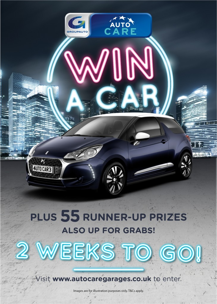 How To Win A Car >> Win A Car Competition Only 2 Weeks To Go Garej Arwyn S