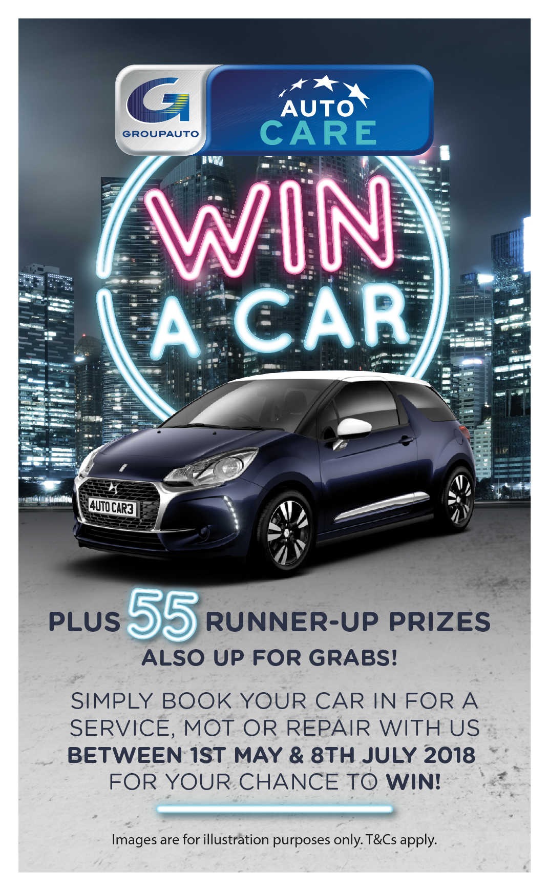 How To Win A Car >> Win A Car Competition Only 4 Weeks To Go Garej Arwyn S